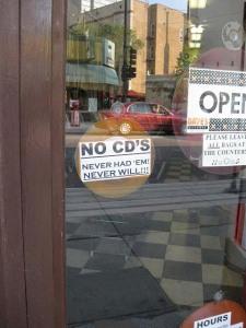 No CD's