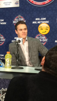 jonathan toews all star weekend nhl snapchat